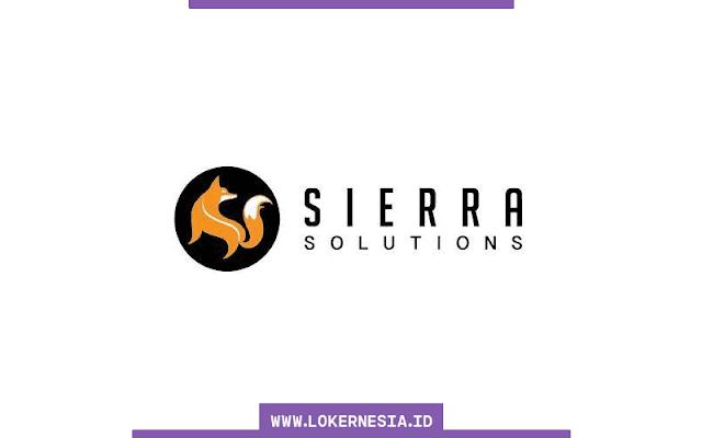 Lowongan Kerja Terbaru PT Sierra Solution Indonesia Bogor  SUMSEL LOKER: Lowongan Kerja Terbaru PT Sierra Solution Indonesia Bogor Agustus 2021