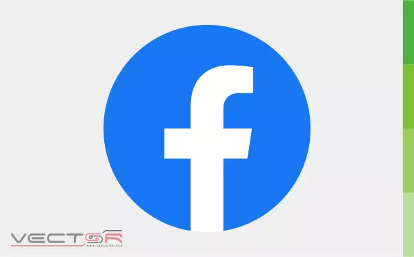 "Facebook ""f"" (2019) Flat Logo Icon - Download Vector File CDR (CorelDraw)"