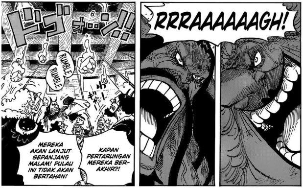Review One Piece Chapter 952 - Kaidou vs Big Mom