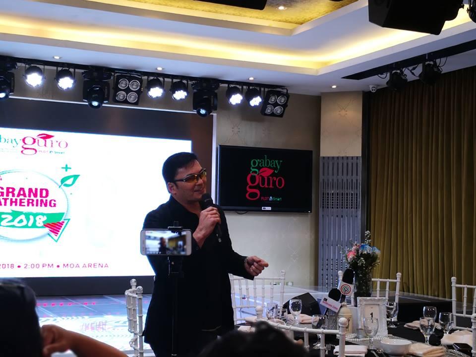 cf8664b2c6151 Lemon GreenTea  PLDT-Smart Foundation s Gabay Guro celebrates the ...