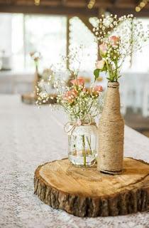 Hochzeitstafeldekorationen