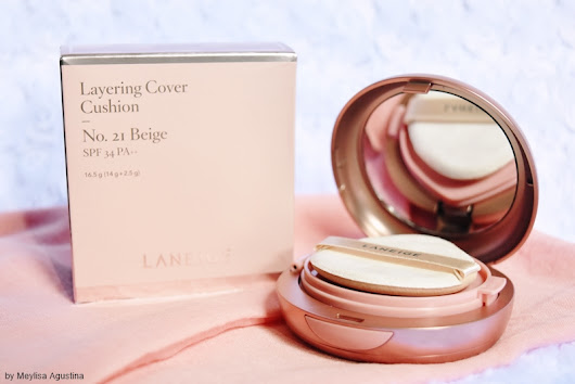 meylisa agustina: Laneige Layering Cover Cushion #21 Beige Review