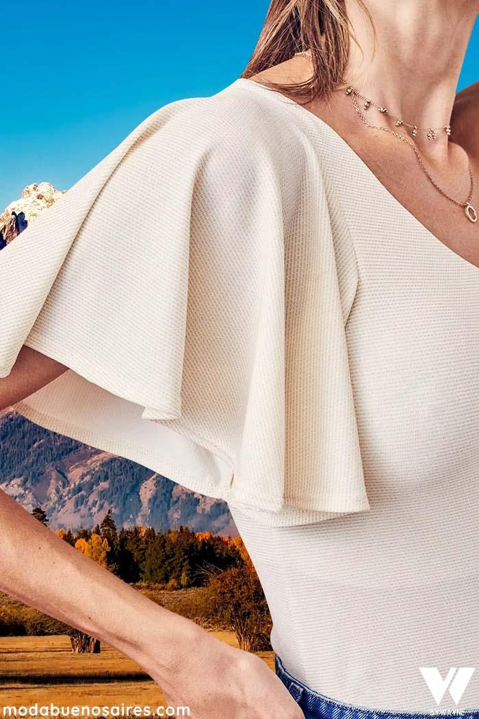 blusa invierno 2021 para reunion moda mujer
