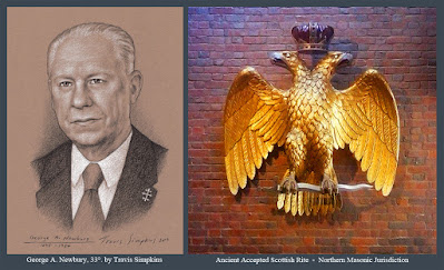 George Adelbert Newbury, 33°. Past Sovereign Grand Commander. Scottish Rite, NMJ. by Travis Simpkins