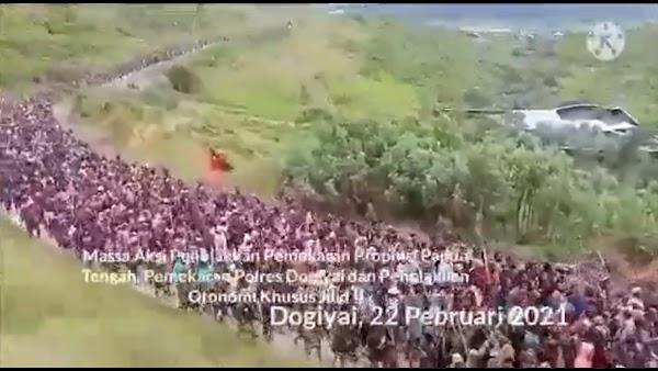 Natalius Pigai Unggah Video Demo Papua: Hati-hati Bisa Perang Rasial dan Sipil