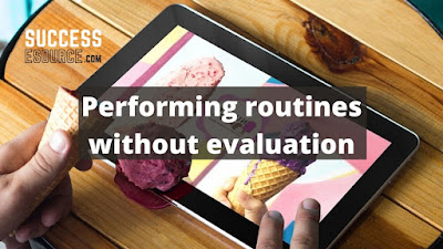 Performing-routines-without-evaluation