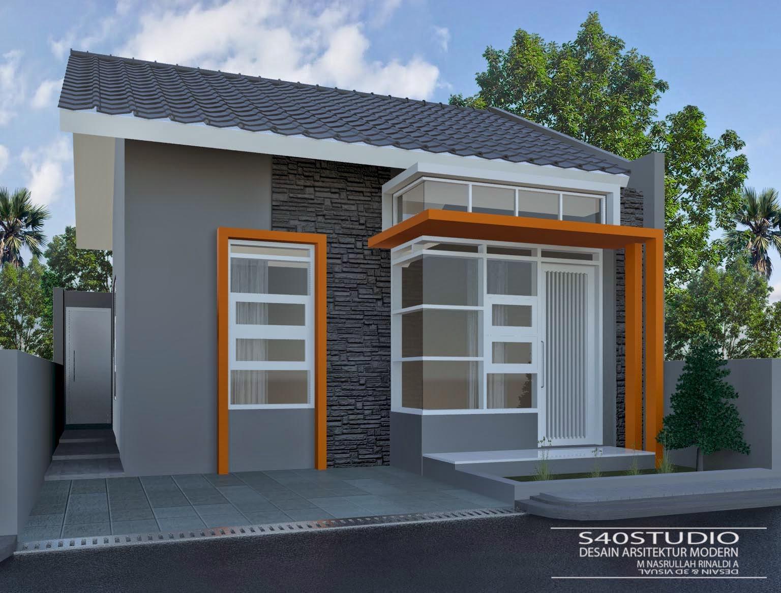 Desain Rumah Minimalis Modern Lebar 6 Meter Gambar 7