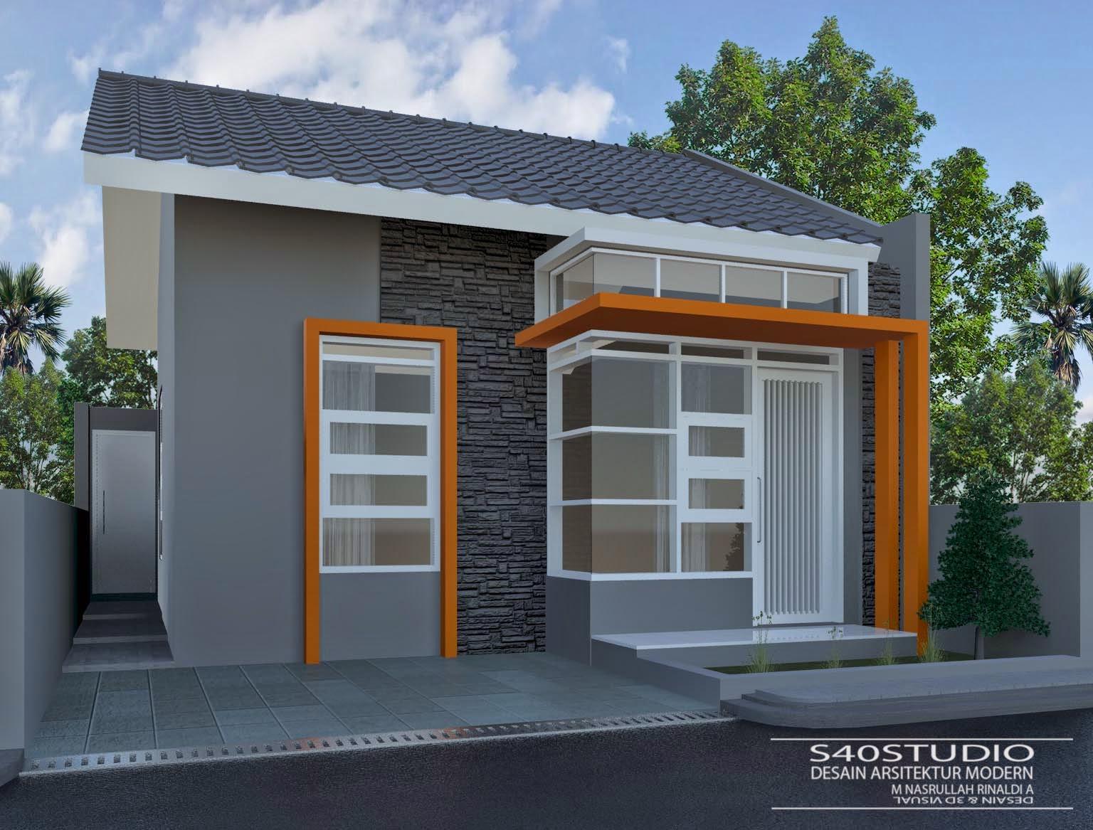 55 Gambar Rumah Minimalis Modern Lengkap HD Terbaru