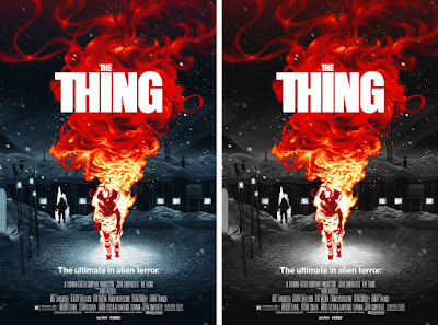 The Thing Movie Poster Screen Print by Florey x Vice Press