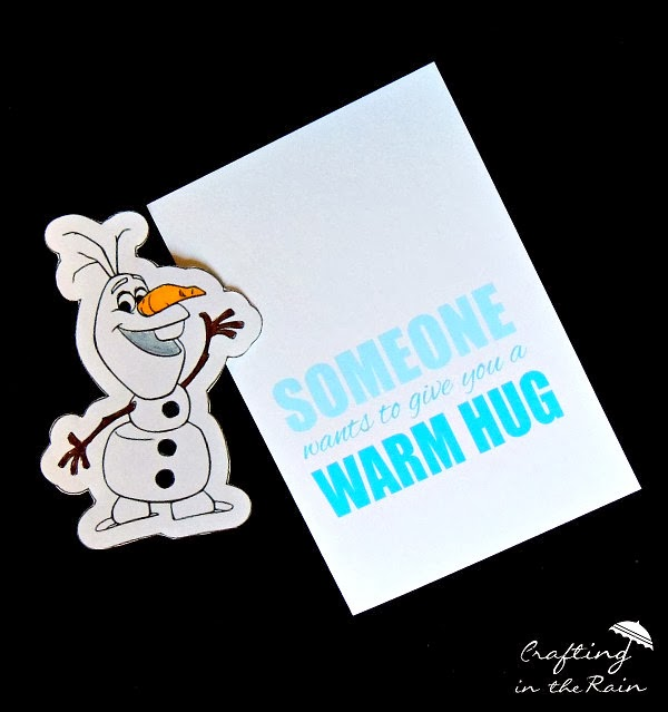Olaf warm hug Valentine