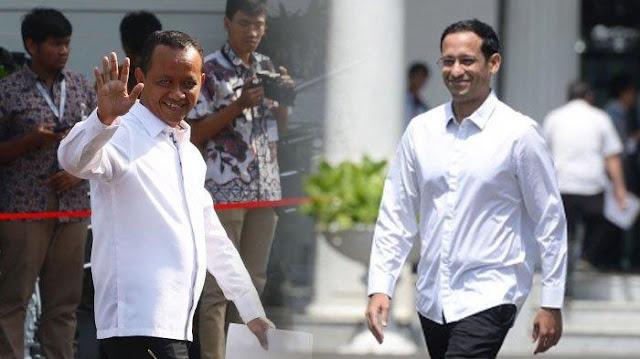 Jokowi Lantik Menteri Investasi Bahlil dan Mendikbud-Ristek Nadiem Besok