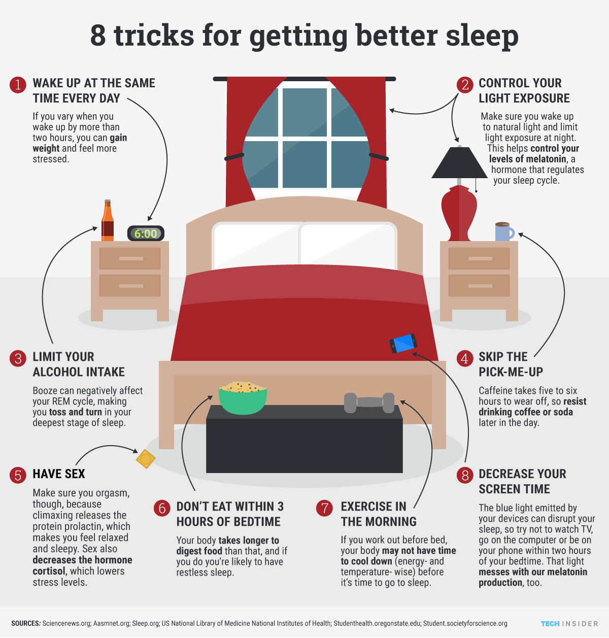 Lifestyle 8 Tips To Get Better Sleep You Know You Need