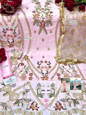 Bridal Pakistani Suits Wholesaler | Ramsha R 276 Nx