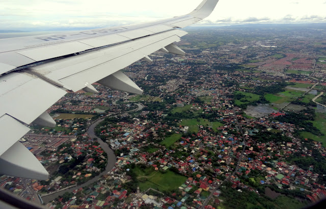 Philippines from my Aeroplane Window Seat