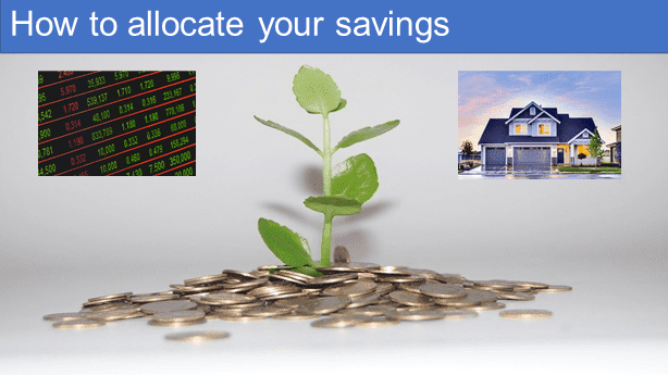 How to allocate your savings