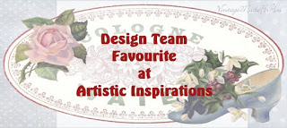 DT Favorite - Artistic Inspirations Challenge