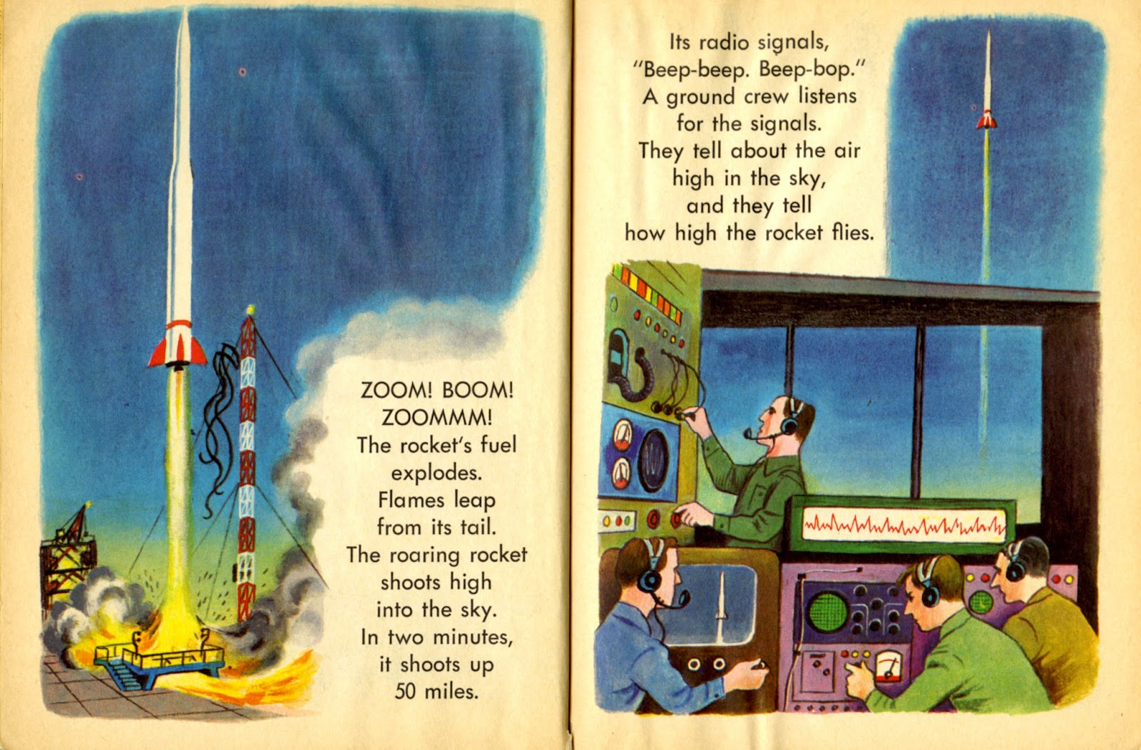 space rocket book - photo #40