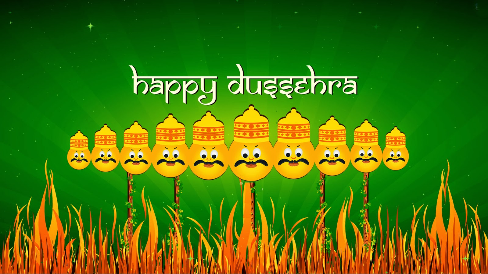Slogan on Dussehra In English