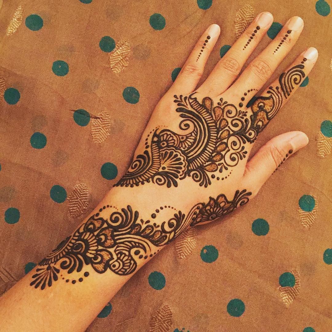 125+ New Simple Mehndi/Henna Designs For Hands