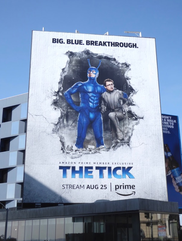 Tick giant series premiere billboard
