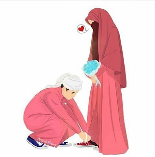 Muslim Couple Cartoon  images