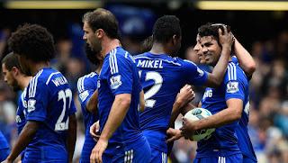 Chelsea 10 Besar Rangking Klub UEFA 2014/15