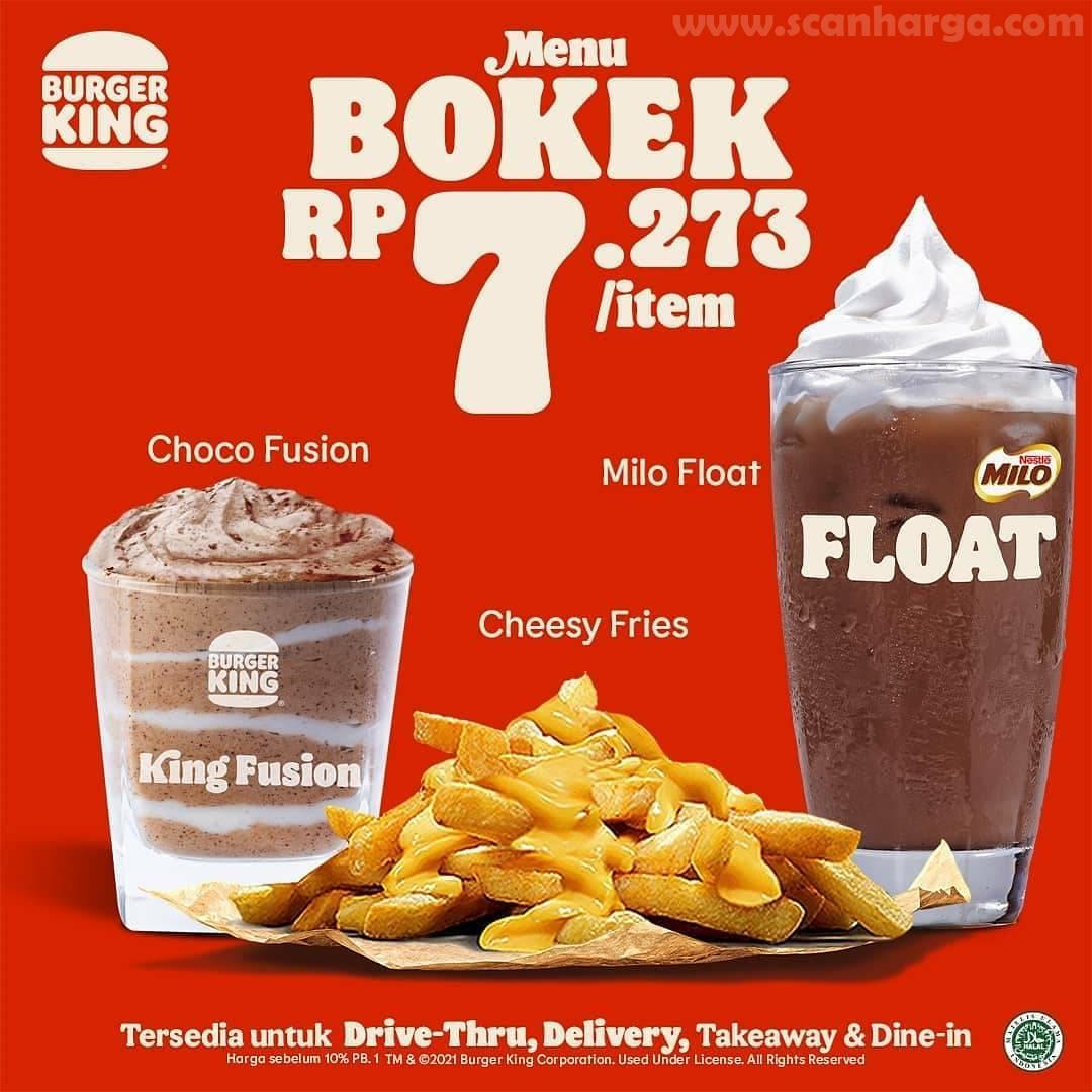 Promo BURGER KING BTS Paket BOKEK 2