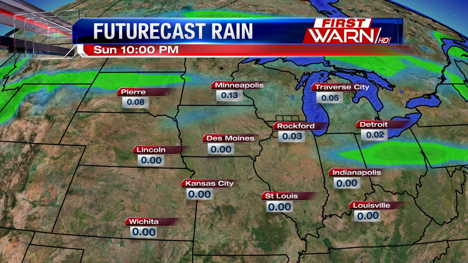 the coverage of rain showers will not be very impressive in addition rainfall totals do not look to be overly concerning