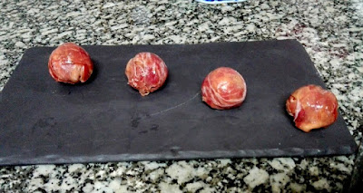 Bombones de jamón.