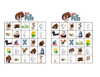 Secret Life of Pets Free Party games,