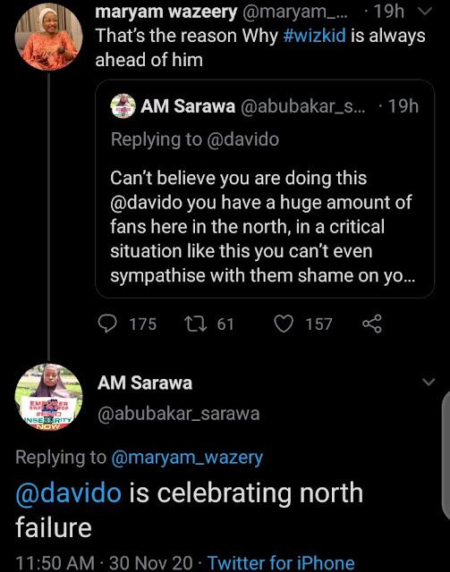 'Davido Is A Bigot' – Northern Youths Blast Davido For Ignoring Them