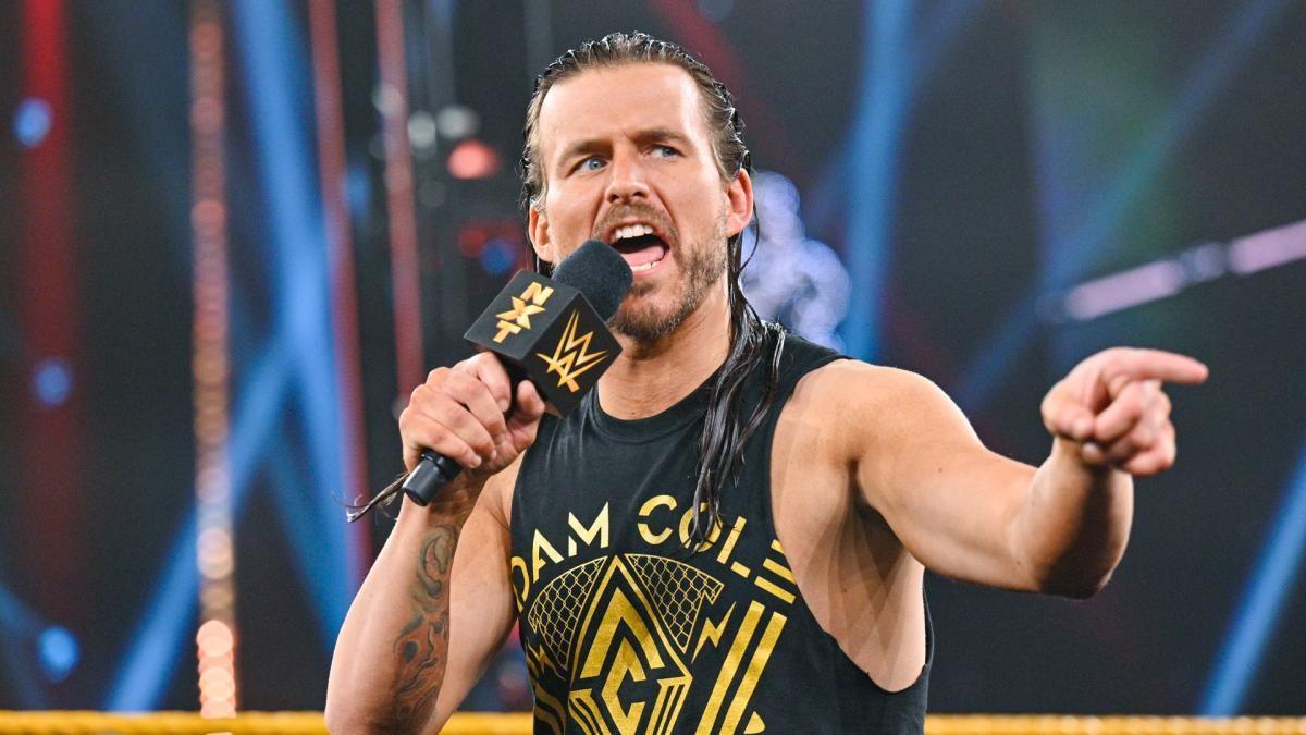 Adam Cole quase vomitou durante luta no NXT TakeOver: New York 2019 ao engolir o próprio cabelo