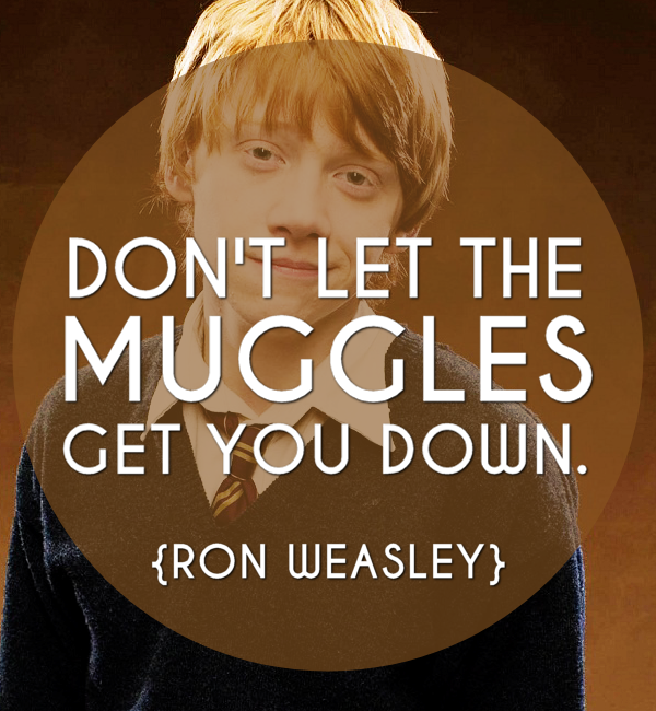 Inspirational Quotes Ron Weasley
