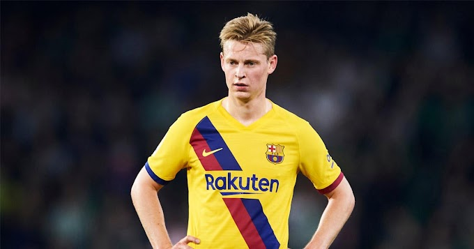 Barcelona midfielder Frenkie reveals why he prefers playing in a double-pivot system