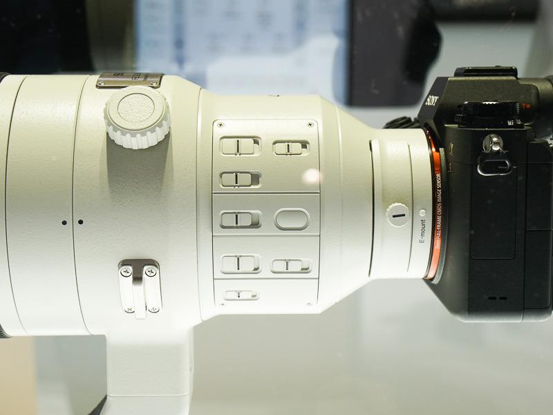 Органы управления Sony FE 400mm f/2.8 GM OSS