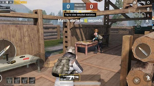 Game PUBG đội hình Deathmatch lôi kéo không hề kém gì thể loại Battle Royale bình thường