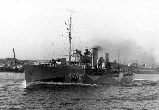 HMCS Spikenard, sunk on 11 February 1942 worldwartwo.filminspector.com
