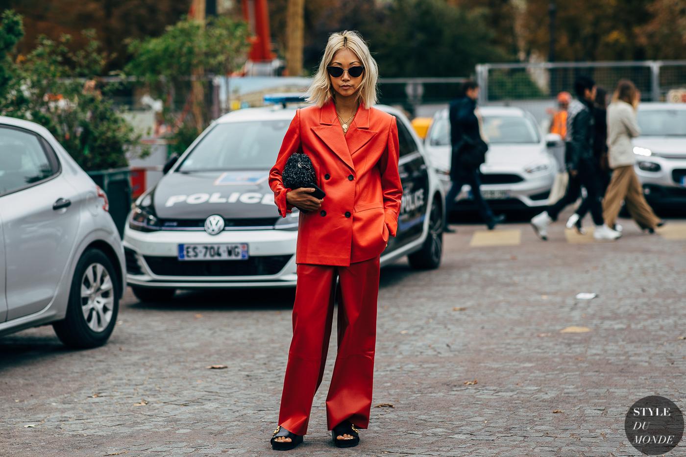 Hello Monday: confident in red * czerwień do pracy