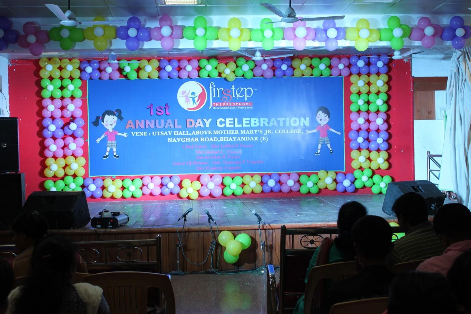 theme for preschool annual day celebration