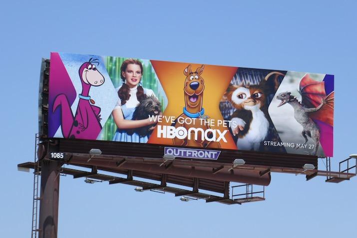 HBO Max Weve got pets billboard