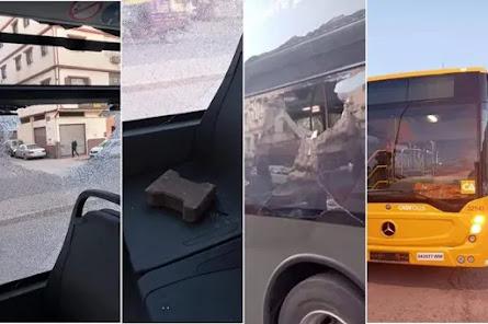 أخبار المغرب: رشق نافذة حافلة يوقع قاصرا في قبضة الأمن