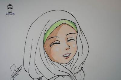 رسم حجاب