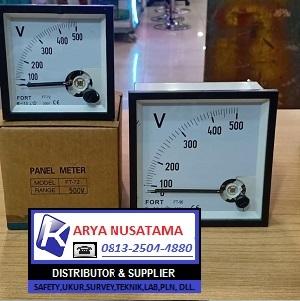 Jual Panel Meter Analog TAB  72 x 72 0 - 500V di Surabaya