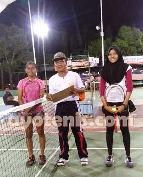 Petenis-petenis Madiun Bikin Kejutan di Kejurnas Tenis Yunior Bupati Cup Ngawi III