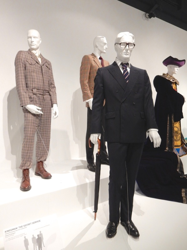 Kingsman Secret Service costume exhibit