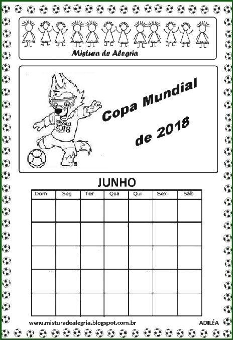atividades sobre a copa mundial de 2018 para imprimir e colorir