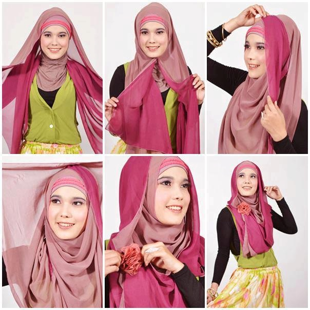 Cara Pakai Hijab Pashmina Mudah dan Praktis