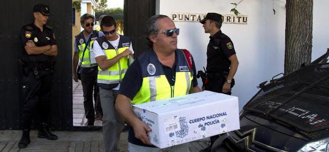 Fraude de subvenciones y policia
