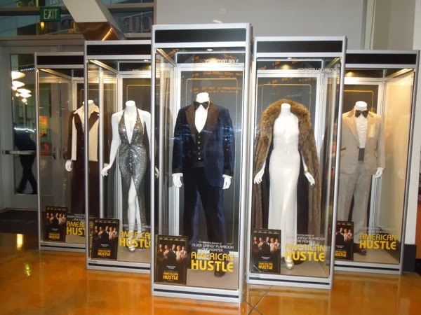 American Hustle movie costume exhibit ArcLight Hollywood