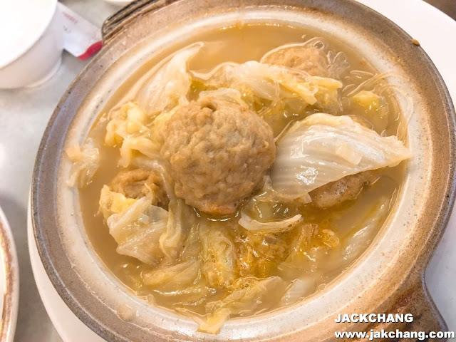 Pork ball casserole
